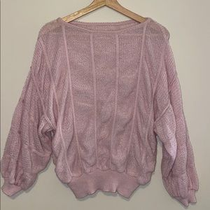Pink Retro Sweater
